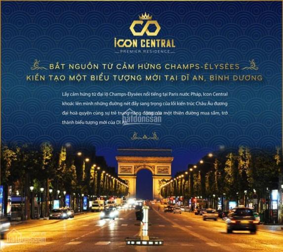 Dự án đất nền iCon Central trung tâm Dĩ An, Bình Dương chỉ 2,28 tỷ khu đô thị phồn hoa đẳng cấp