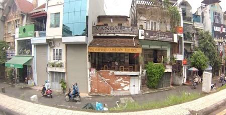 Cho thuê mặt bằng bán hàng online quận Tây Hồ, mặt đường Nghi Tàm (đầu đường Thanh Niên)