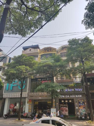 Cho thuê nhà mặt phố Trung Hòa, Cầu Giấy, HN. DT 150m2 x 5T, mặt tiền 6m, nhà mới đẹp, giá 90tr/th
