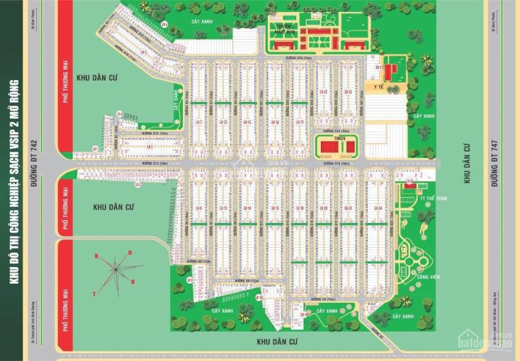 Ưu tiên chọn lô góc 2 mặt tiền Hana Garden Mall, giá siêu rẻ, cam kết lợi nhuận 30%/6 tháng