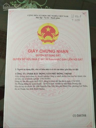 Chính chủ cần bán gấp lô đất Phú Hồng Khang - Phú Hồng Đạt - 62.2m2 - 23tr/m2
