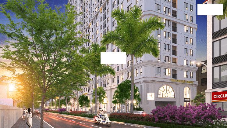 Cho thuê mặt bằng tầng 1 chung cư B6 Giảng Võ (The Golden Armor), Quận Ba Đình. 0946461166