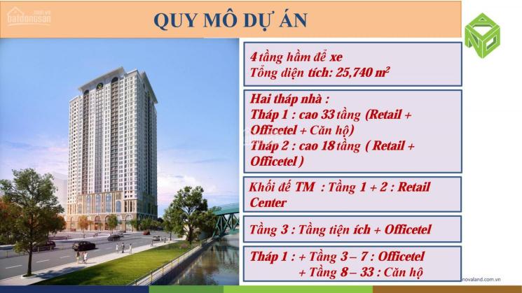 Cho thuê 2 phòng ngủ, 2WC Saigon Royal, Quận 4 nhà cơ bản có bếp, giá: 18 tr/tháng
