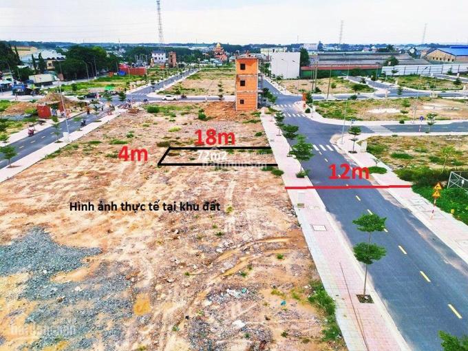 Đất Phú Hồng Khang đối diện chợ Phú Phong, 68m2 4x17m giá 1 tỷ 460 triệu sổ hồng xây dựng ngay