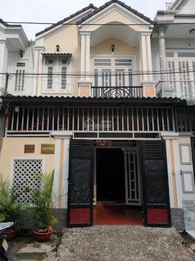Nhà mới 1 lầu, 5,3x16m, gần TTY xã Xuân Thới Đông, Hóc Môn