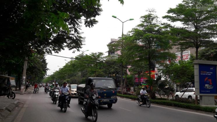 Bán đất mặt phố Nguyễn Khánh Toàn, 154.1m2, MT 7,6m, hậu 10m, giá bán 55 tỷ