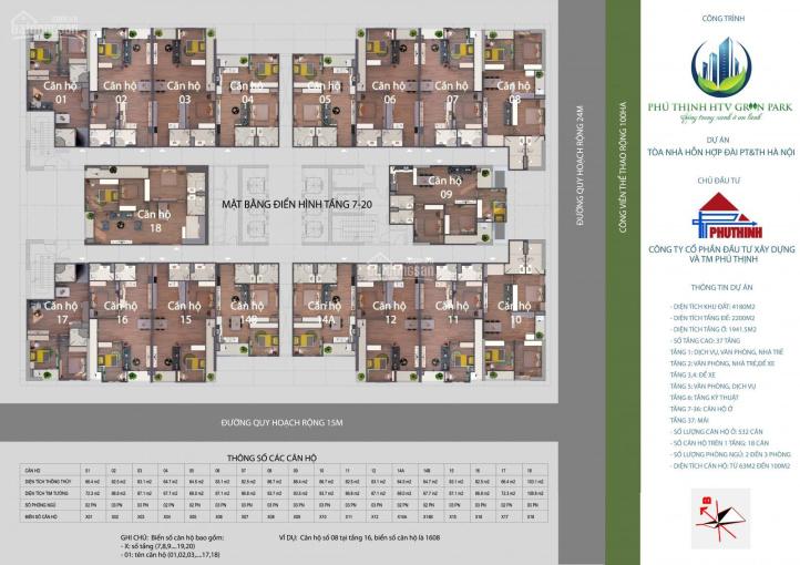 Bán suất ngoại giao HTV căn 14A - 14B, 2 phòng ngủ tầng đẹp giá siêu rẻ chính chủ. LH: 0904588816 ảnh 0