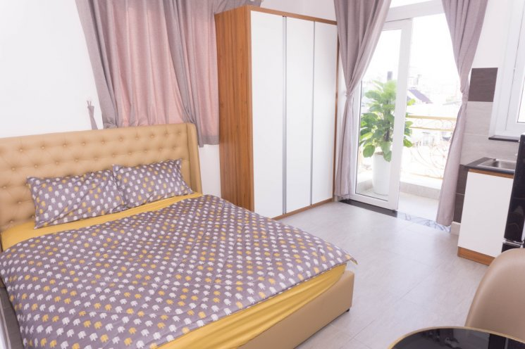 Chính chủ cho thuê căn hộ Studio gần chợ Ông Tạ, Phạm Văn Hai từ 6.5tr/tháng, liên hệ 0908480402