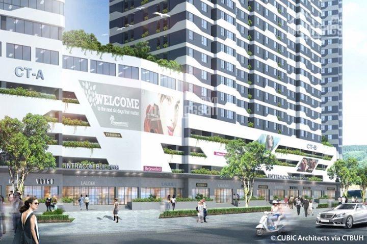 Bán nhanh căn hộ 66,3m2, 2PN - 3602 tòa B Intracom Riverside chân cầu Nhật Tân giá siêu hot