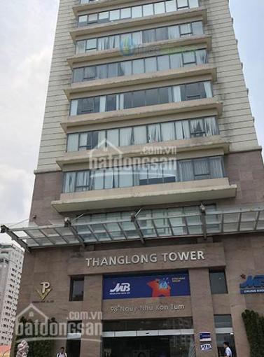 CĐT Thăng Long Tower cần cho thuê DT 100m2, 200m2, 600m2. LH 0917992363