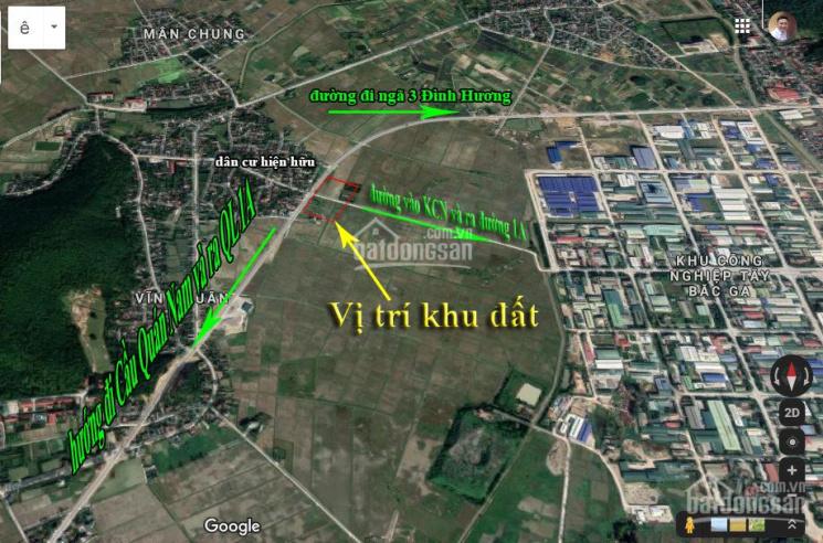 Bán 10.000m2 đất thương mại dịch vụ 50 năm mặt tiền đường vành đai Đông Tây - Đông Lĩnh - Thanh Hóa