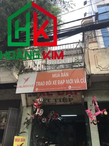 Cho thuê nhà MT Trường Chinh, P. 14, 1T 2L, 4.6x27m, HK