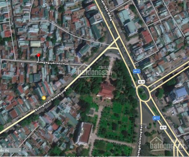 Đất mặt tiền Nguyễn Hữu Huân trung tâm Plei Ku - giá thấp hơn thị trường 100tr/m, 0904455552