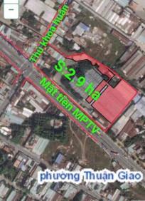Bán 2,9ha đất mặt tiền cao tốc Mỹ Phước Tân Vạn