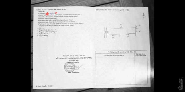 Cần bán đất ở Quán Trạch, Liên Nghĩa, Văn Giang, Hưng Yên, giá cực yêu, LH: 0916247433