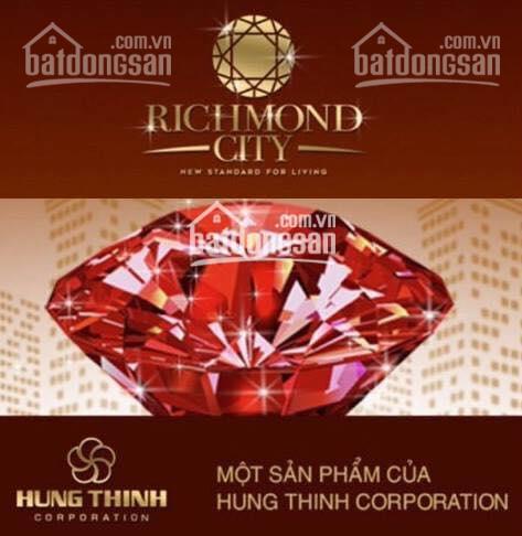 Richmond dễ dàng mua 2PN 2WC 66m2=2.45tỷ, 71m2=2.75tỷ, 89m2=3.2tỷ nhà trống view đẹp 0918541898
