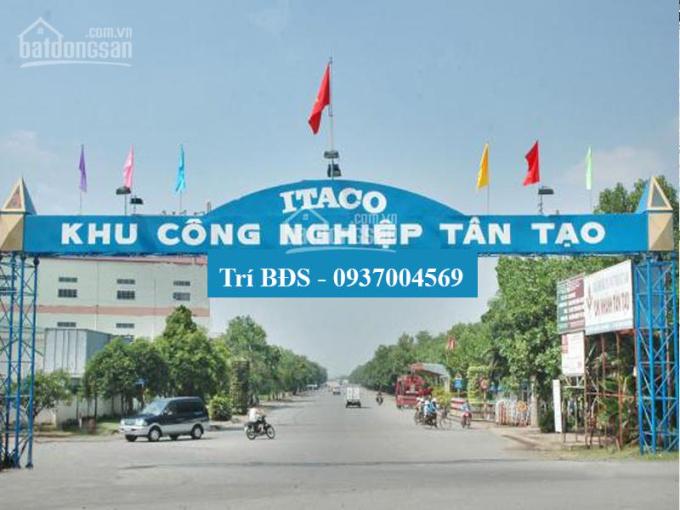 Trí BĐS đất 6.077m2 có nhà xưởng 4.000m2 KCN Tân Tạo, Quận Bình Tân, xưởng cao đẹp, giá tốt