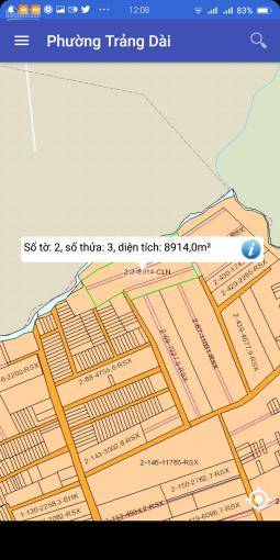 Bán gấp đất phường Trảng Dài, ngay ngã tư Quang Thắng, giá chỉ 480 triệu t