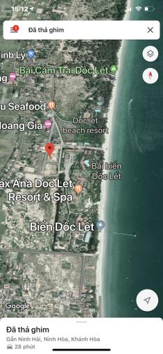 Cần bán lô góc 204m2 đất ở, nhà nước đấu giá, tại Biển Dốc lếch, giá 25tr/m2, LH 0949112113 ảnh 0