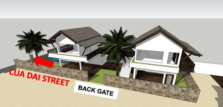 Cho thuê nhà mặt tiền đường Cửa Đại sầm uất Hội An, 350m2 mặt sàn, MT 8m