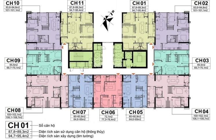Cần tiền bán cắt lỗ CC A10 Nam Trung Yên, căn 1506, diện tích 72m, giá 29 triệu/m². LH 0931905666