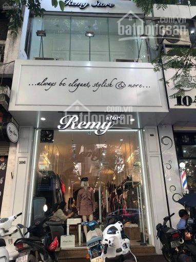Cho thuê cửa hàng mặt phố Trần Đăng Ninh. Diện tích 50m2, xây 5 tầng làm spa, thời trang, salon tóc