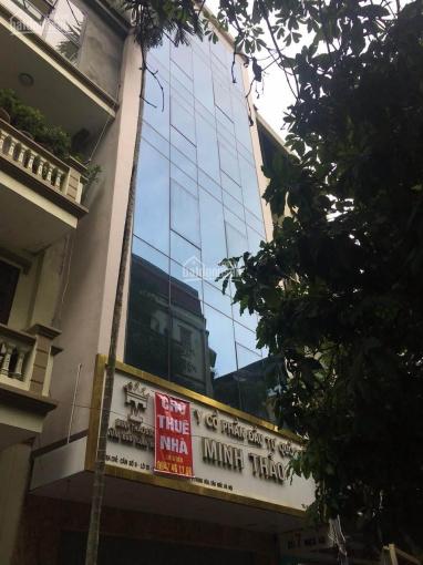 Tôi cần cho thuê gấp nhà mặt phố Vũ Phạm Hàm - Trung Hoà, 6 tầng, 1 tum. DT 147m2, MT: 5,6m