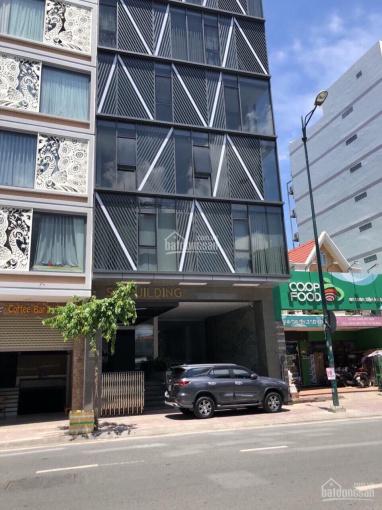 Cho thuê tòa nhà Điện Biên Phủ, Q10, DT 8.3x24m, 6 lầu thang máy. Giá 185 triệu/tháng
