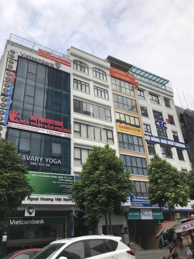 Cho thuê nhà MP Nguyễn Khang Cầu Giấy, DT 100m2, 7 tầng, MT 6m, giá 80 triệu/th. LH: 0399.909.083