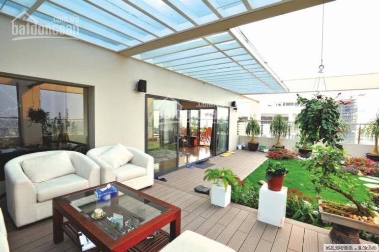 Bán căn hộ có sân vườn - Penthouse căn hộ The Golden Star Nguyễn Thị Thập, Quận 7 - Sân vườn rộng