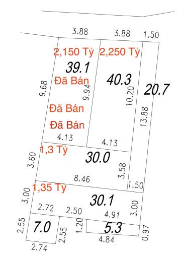 Bán đất Quang Tiến, ngay chợ chiều 1,3 tỷ, 33 m2, Đại Mỗ, Nam Từ Liêm, LH: 0902226033