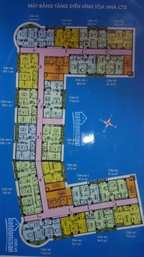 Chính chủ bán căn hộ 3pn CT2 khu đô thị Nam Cường Cổ Nhuế giá rẻ nhất thị trường ảnh 0