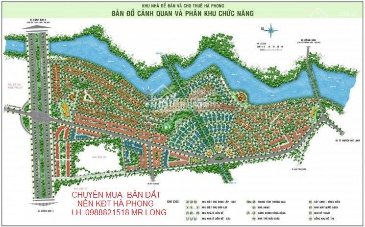 Chính chủ bán biệt thự 170m2 KĐT Hà Phong, Mê Linh sổ đỏ, giá 2,75 tỷ
