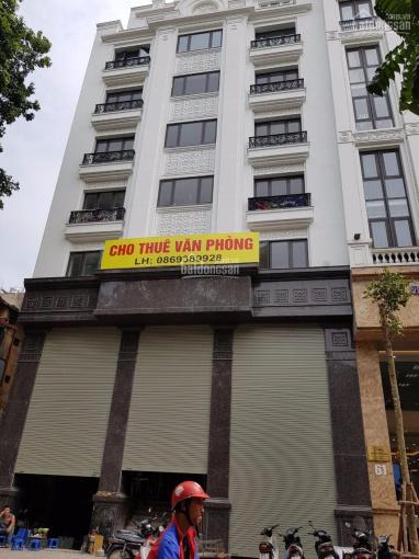 Cho thuê nhà Nguyễn Thị Định, Trung Hòa, Cầu Giấy 98m2 x 6T thông sàn, thang máy. Giá 62tr/th