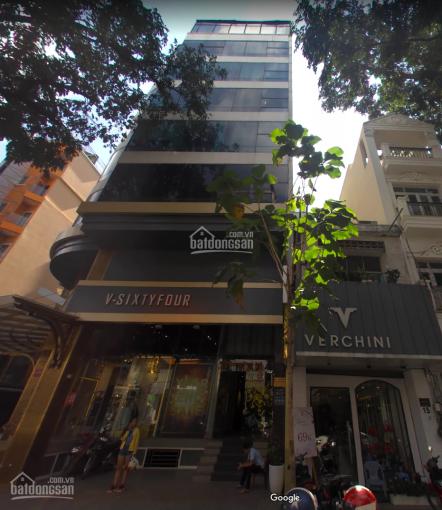 Cho thuê tòa nhà VP đường Nguyễn Trãi ngay ngã 6 Phù Đổng Quận 1, DT: 8.5x11.5m, giá: 208,305 tr/th
