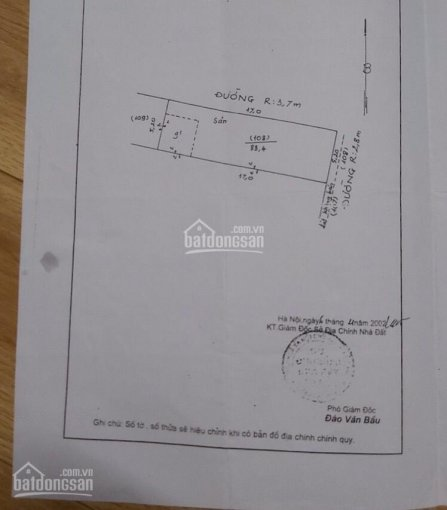 Bán đất địa chỉ: TT Công ty May 10, Sài Đồng, Long Biên, Hà Nội. Diện tích: 51.4m2, vuông vắn
