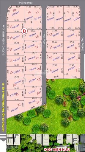 Bán đất vị trí đắc địa ở đường Hội Bài - Châu Pha, TX. Phú Mỹ, chỉ 900tr sở hữu ngay 500m2