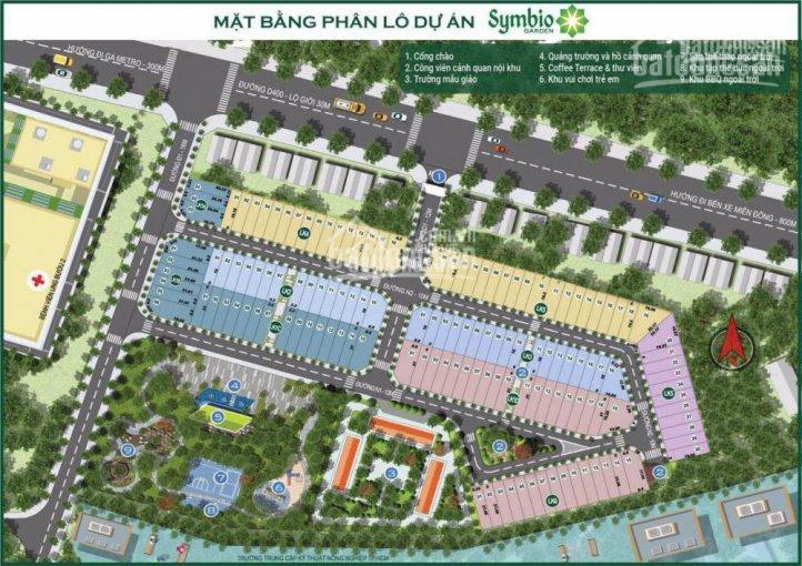 Cần bán nhanh lô đất chính chủ LK5 - 30, dự án Symbio Garden, Quận 9