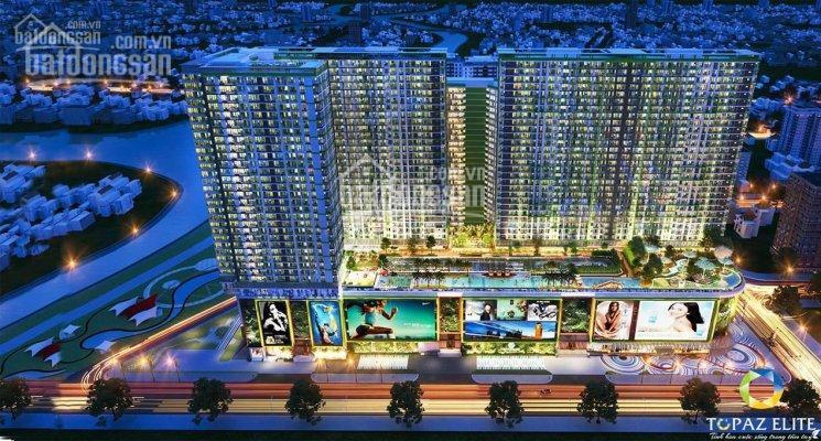 Căn hộ Topaz Elite, diện tích 85m2, 3PN, 2WC, căn góc, view công viên 10ha, thanh toán 1,430 tỷ