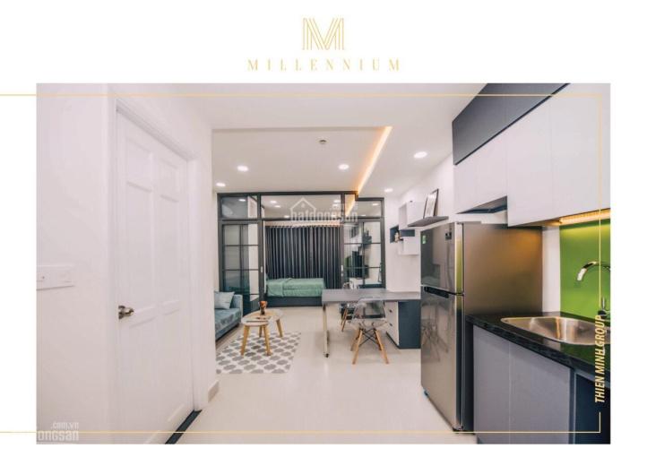 Cho thuê căn 1PN Millennium - 40m2 - full nội thất xách vali vào ở - 0932 18 70 90