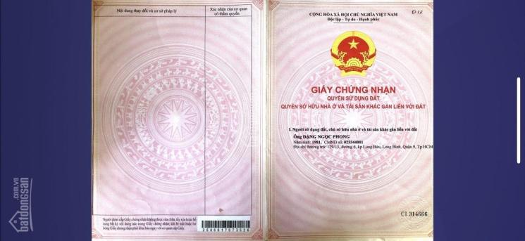 Chính chủ cần bán 2 lô góc KDC Samsung Quận 9, LH 0911943966