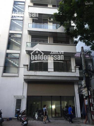 Cho thuê nhà MP Trung Hòa, 130m2 x 5 tầng, MT 6m, giá 80tr/th. Nhà mới, đẹp