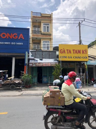Bán nhà mặt tiền Nguyễn Ảnh Thủ 5x26m, trệt 3 lầu, đang cho thuê 50tr/th. Giá 12.5 tỷ