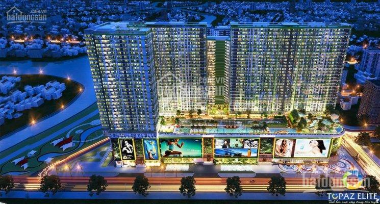 Căn hộ Topaz Elite, DT 90m2,3PN, 2WC, tầng thấp, căn góc, view đường Cao Lỗ, thanh toán 1,531 tỷ