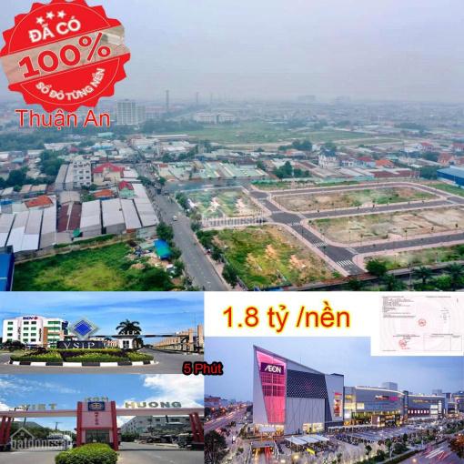 Mở bán đợt 1 đất nền sổ đỏ cách Aeon Mall 5 phút