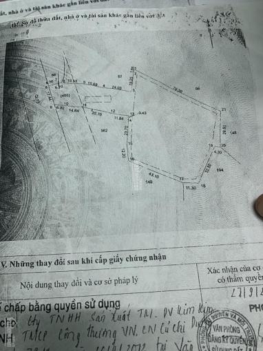 Bán đất mặt tiền Quốc Lộ 13 (5.914m2) thổ 100 SKC 3.878m2, Phường Tân Định, Bến Cát, BD