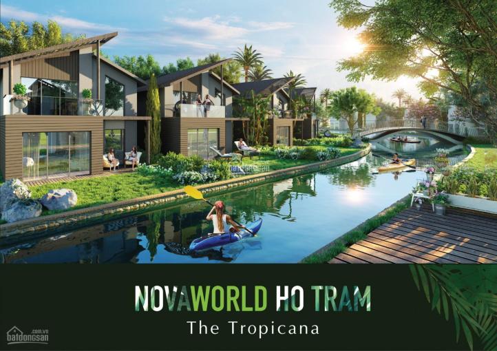Cần bán BT Novaworld Hồ Tràm - NVW. HT-TFC. 4-3.81 diện tích 160m2 ngay hồ giá từ 6.2 tỷ/căn ảnh 0
