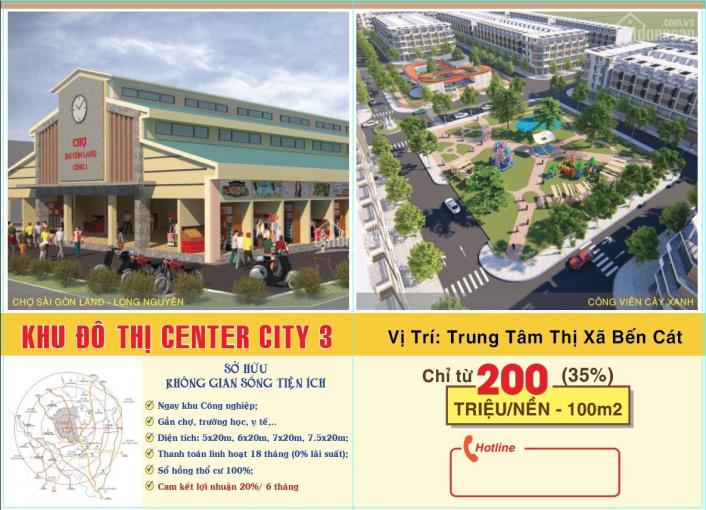 Chỉ 201 triệu sở hữu đất nền sổ đỏ liền kề thị xã Bến Cát, thanh toán chậm 12 tháng, Lh 093.5678922