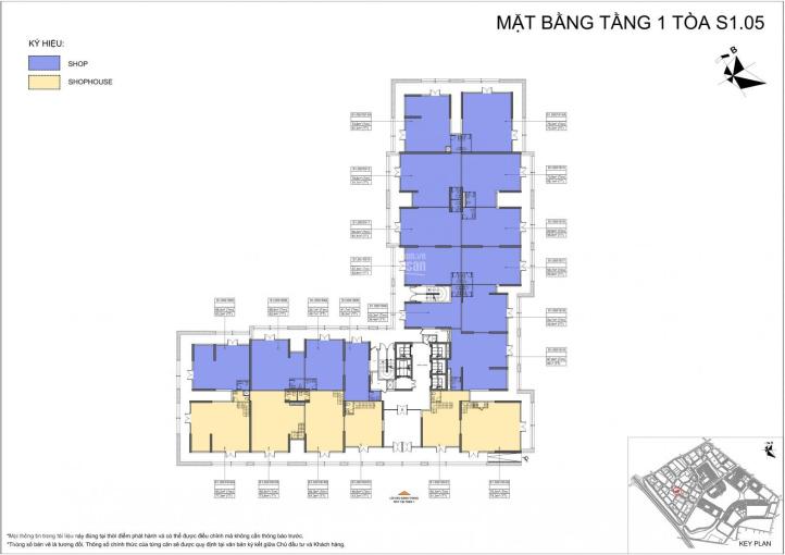 Bán shophouse chân đế tòa S1.05, diện tích 75m2, dự án Vinhomes Ocean Park, Gia Lâm LH: 0936298166 ảnh 0