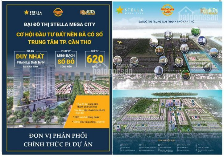 Stella Mega City, Cần Thơ - Ưu tiên chọn vị trí đẹp - chiết khấu cao nhất